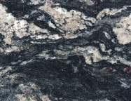 Technical detail: BLUE FANTASY Brazilian polished natural, granite