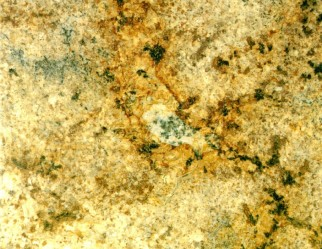 GOLDEN WAVE-Brazil: granite brown light, stone slightly veined yellow