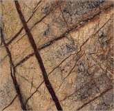 FANCY BROWN - India: marble polished, brown dark.