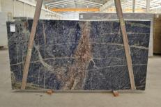 Supply polished slabs 1.2 cm in natural granite AFRICAN LAPIS LAZULI #BQ02285. Detail image pictures