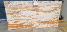 Supply polished slabs 0.8 cm in natural onyx Alabaster alabaster. Detail image pictures