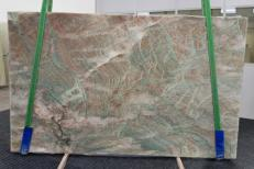 Supply polished slabs 0.8 cm in natural quartzite ALEXANDRITE GL 1004. Detail image pictures