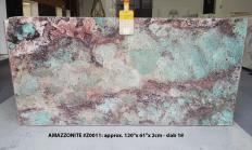 Supply polished slabs 2 cm in natural semi precious stone AMAZZONITE Z0011. Detail image pictures
