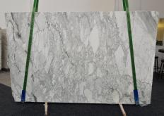 Supply polished slabs 0.8 cm in natural marble ARABESCATO CARRARA 1116. Detail image pictures