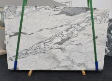 Supply honed slabs 0.8 cm in natural marble ARABESCATO CORCHIA 1418. Detail image pictures