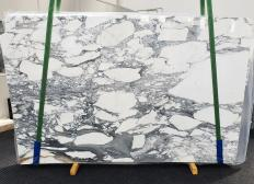 Supply polished slabs 0.8 cm in natural marble ARABESCATO CORCHIA 1433. Detail image pictures