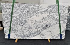 Supply honed slabs 0.8 cm in natural marble ARABESCATO CORCHIA 1420. Detail image pictures
