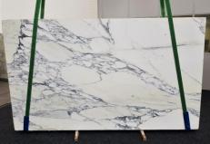Supply polished slabs 0.8 cm in natural marble ARABESCATO CORCHIA GL1129. Detail image pictures