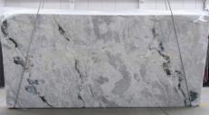 Supply polished slabs 0.8 cm in natural Dolomite ARTIC OCEAN 1279G. Detail image pictures