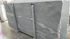 Supply polished slabs 0.8 cm in natural basalt ATLANTIC LAVA STONE 1489G. Detail image pictures