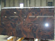 Supply polished slabs 0.8 cm in natural granite AURORA CV2_AU25. Detail image pictures