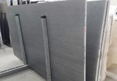 Supply honed slabs 1.2 cm in natural basalt BASALTINA 1355M. Detail image pictures