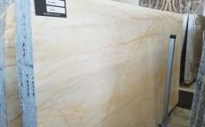 Supply polished slabs 0.8 cm in natural marble BIANCO FANTASY AA T0218. Detail image pictures