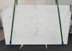 Supply polished slabs 0.8 cm in natural marble BIANCO GIOIA EXTRA 1266. Detail image pictures