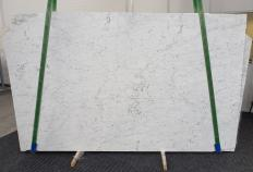 Supply honed slabs 0.8 cm in natural marble BIANCO GIOIA EXTRA 1266. Detail image pictures