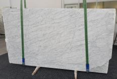 Supply polished slabs 0.8 cm in natural marble BIANCO GIOIA VENATO 1253. Detail image pictures