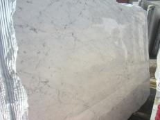 Supply polished slabs 0.8 cm in natural marble BIANCO GIOIA VENATO EM_0238. Detail image pictures