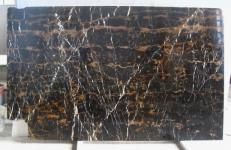 Supply polished slabs 0.8 cm in natural marble BLACK AND GOLD E_H2387. Detail image pictures