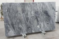 Supply polished slabs 1.2 cm in natural marble BLUE PORTOFINO #550. Detail image pictures