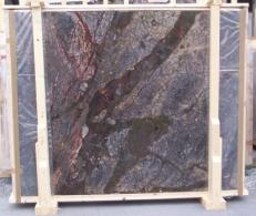 Supply polished slabs 0.8 cm in natural brech BRECCIA ANTICA E-14709. Detail image pictures