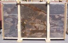 Supply polished slabs 0.8 cm in natural brech BRECCIA ANTICA E-14641. Detail image pictures