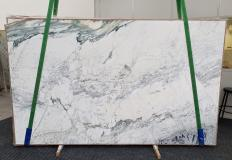 Supply polished slabs 0.8 cm in natural marble BRECCIA CAPRAIA GRIGIA 1353. Detail image pictures