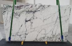Supply polished slabs 0.8 cm in natural marble BRECCIA CAPRAIA 1251. Detail image pictures