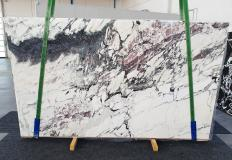 Supply polished slabs 0.8 cm in natural marble BRECCIA CAPRAIA 1283. Detail image pictures