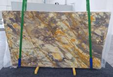 Supply polished slabs 0.8 cm in natural marble BRECCIA ETRUSCA 1199. Detail image pictures