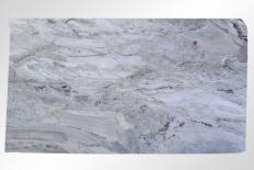 Supply honed slabs 0.8 cm in natural marble BRECCIA LINCOLN M2020084. Detail image pictures