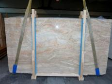 Supply polished slabs 0.8 cm in natural brech BRECCIA ONICIATA SC_982. Detail image pictures