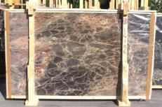 Supply polished slabs 0.8 cm in natural marble BRECHE DE VERSAILLES E_BV14106. Detail image pictures