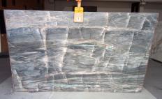Supply polished slabs 0.8 cm in natural quartzite BRITA BLUE Z0359. Detail image pictures