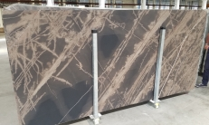 Supply honed slabs 0.8 cm in natural limestone BRONZO VENATO 1529M. Detail image pictures