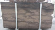 Supply honed slabs 0.8 cm in natural limestone CAESER BROWN 0273M. Detail image pictures