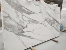 Supply polished slabs 0.8 cm in heat resistant melting glass CALA VEIN A. Detail image pictures