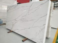 Supply polished slabs 2 cm in heat resistant melting glass CALA VEIN B. Detail image pictures