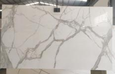 Supply polished slabs 0.7 cm in heat resistant melting glass CALA VEIN D Model-D. Detail image pictures