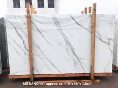 Supply polished slabs 0.7 cm in heat resistant melting glass CALA VEIN G Model-G. Detail image pictures