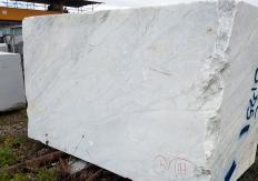 Supply sawn blocks 51.2 cm in natural marble CALACATTA ARNI Z0175. Detail image pictures
