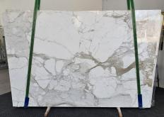 Supply polished slabs 0.8 cm in natural marble CALACATTA MACCHIA ANTICA 1311. Detail image pictures