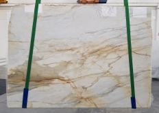 Supply polished slabs 0.8 cm in natural marble CALACATTA MACCHIAVECCHIA 1231. Detail image pictures