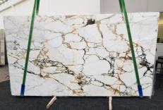 Supply polished slabs 0.8 cm in natural marble CALACATTA MACCHIAVECCHIA GL 1131. Detail image pictures