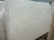 Supply sawn slabs 0.8 cm in natural marble CALACATTA MICHELANGELO E-O423. Detail image pictures