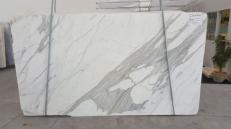 Supply polished slabs 1.2 cm in natural marble CALACATTA ORO EXTRA GL 791. Detail image pictures