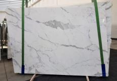 Supply polished slabs 0.8 cm in natural marble CALACATTA ORO EXTRA GL 1043. Detail image pictures