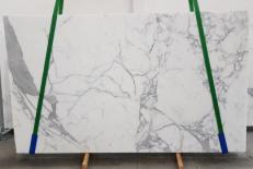 Supply polished slabs 0.8 cm in natural marble CALACATTA ORO EXTRA 1145. Detail image pictures