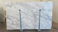 Supply polished slabs 1.2 cm in natural marble CALACATTA ORO GL 999. Detail image pictures