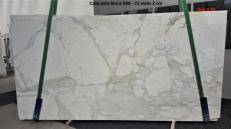 Supply polished slabs 2 cm in natural marble CALACATTA ORO GL 988. Detail image pictures