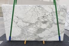 Supply polished slabs 0.8 cm in natural marble CALACATTA VAGLI VENA FINA 1254. Detail image pictures